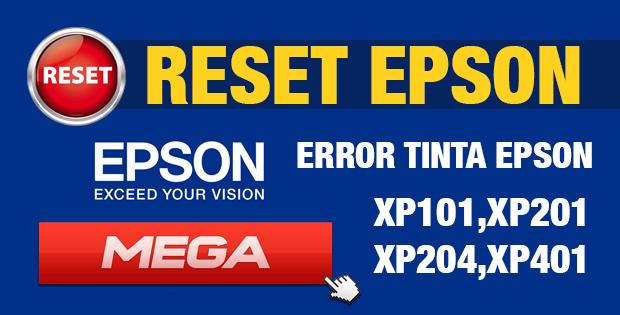 Reset para impresora Epson XP101 XP201 XP204 XP401 Gratis